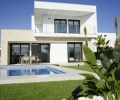 ESCBS/AP/006/76/VMA19/00000, Costa Blanca, Torrevieja region, new built villa with garden and pool for sale