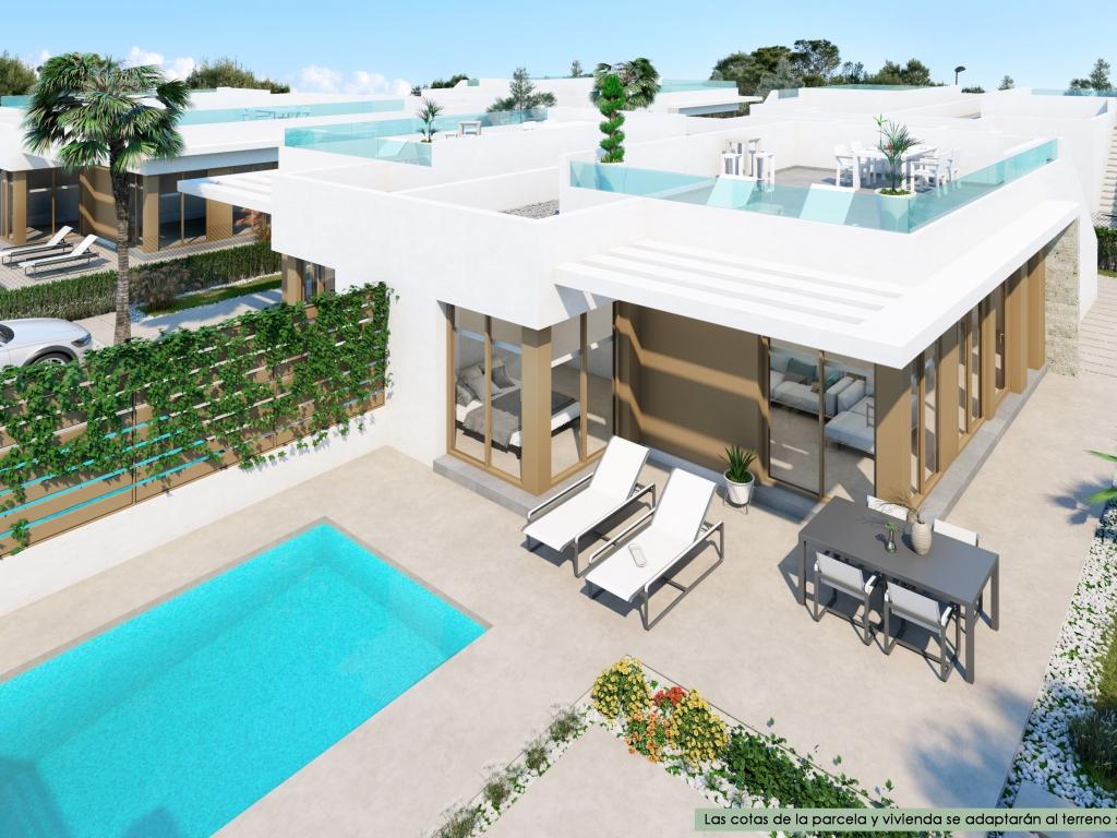 villa with optional pool