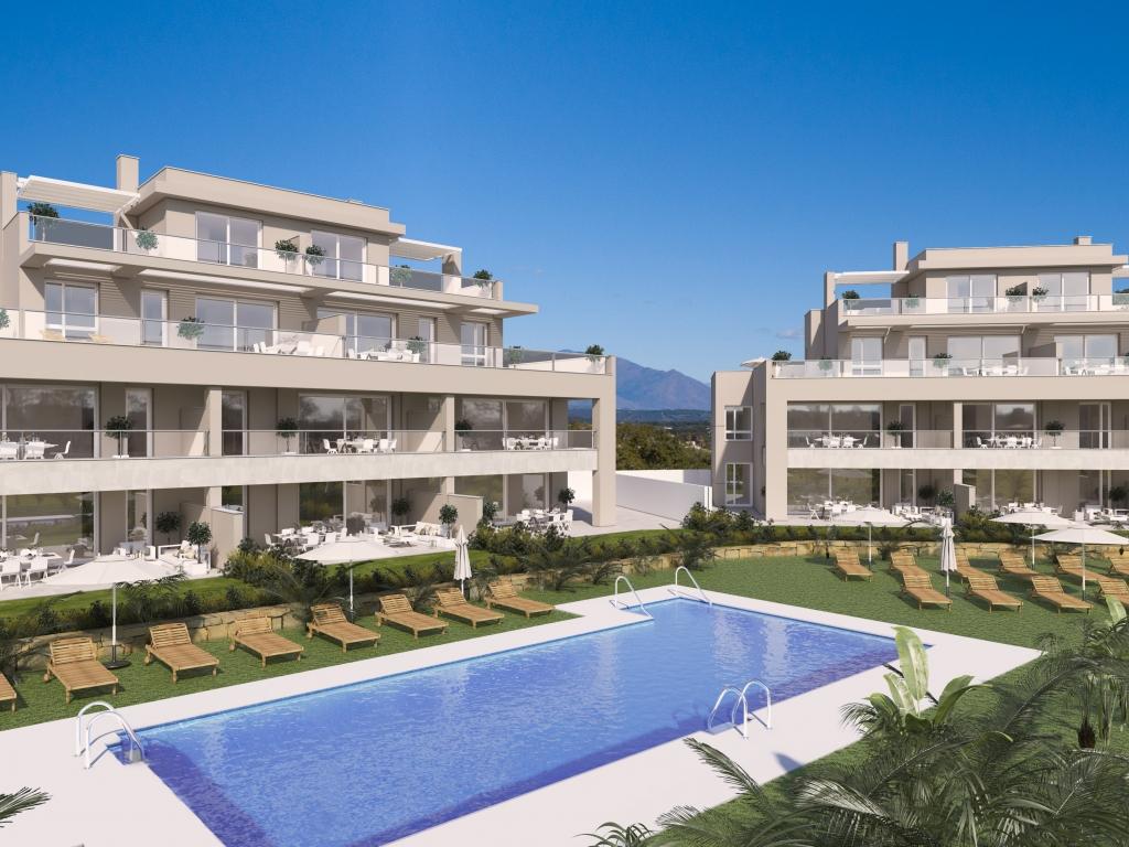 A4-apartments-San Roque-Pool