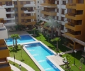 ESCBS/AJ/001/06/B212F/00000, Costa Blanca, Torrevieja, Punta Prima, piso de obra nueva con piscina y terraza en venta